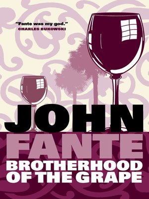 cover image of Brotherhood Of The Grape