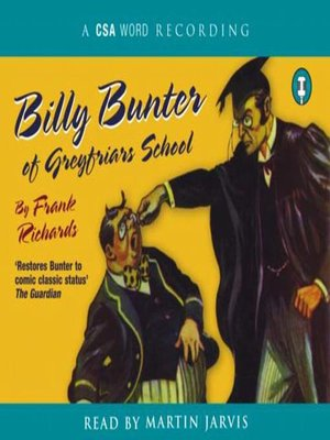 cover image of Billy Bunter of Greyfriars School