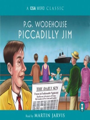 cover image of Piccadilly Jim