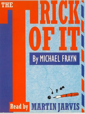 cover image of The Trick of It