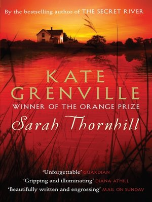 cover image of Sarah Thornhill