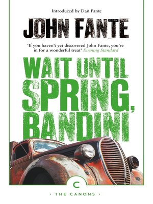 cover image of Wait Until Spring Bandini