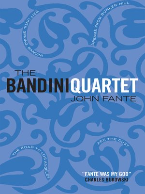 cover image of The Bandini Quartet
