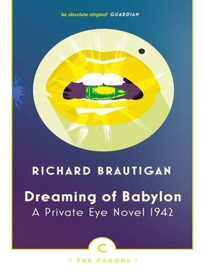 cover image of Dreaming of Babylon