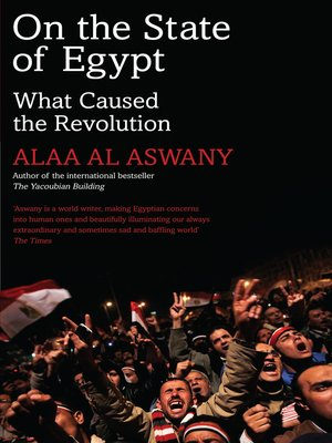 cover image of On the State of Egypt