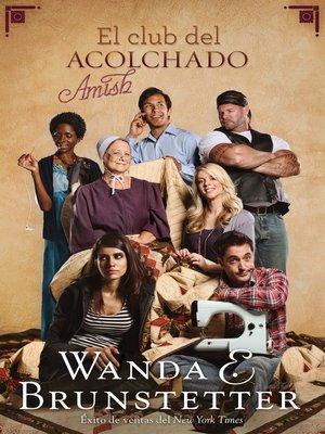 cover image of El club del acolchado amish
