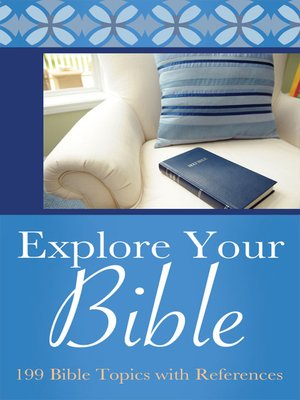 cover image of Explore Your Bible