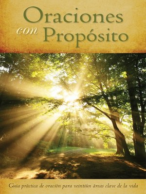 cover image of Oraciones con Propósito