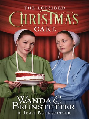 cover image of The Lopsided Christmas Cake
