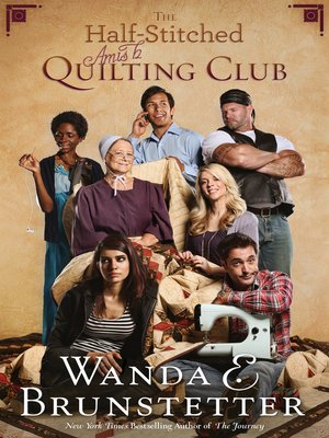 cover image of The Half-Stitched Amish Quilting Club