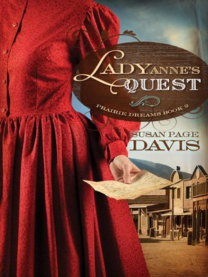 cover image of Lady Anne's Quest