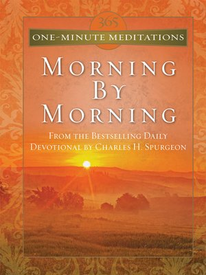 cover image of 365 One-Minute Meditations From Morning By Morning