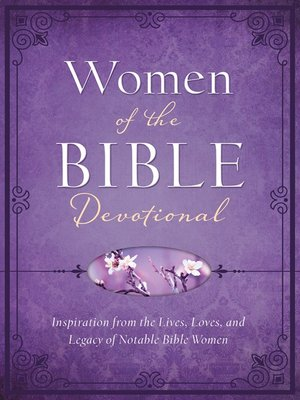 cover image of Women of the Bible Devotional