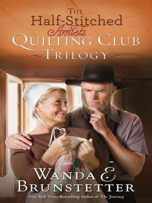 cover image of The Half-Stitched Amish Quilting Club Trilogy