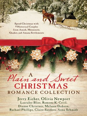 cover image of A Plain and Sweet Christmas Romance Collection