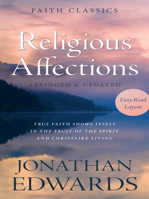 cover image of Religious Affections