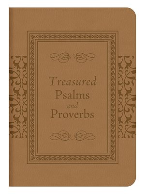 cover image of Treasured Psalms and Proverbs