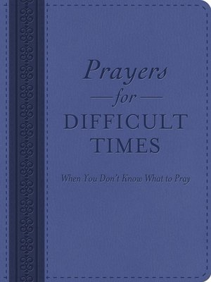cover image of Prayers for Difficult Times