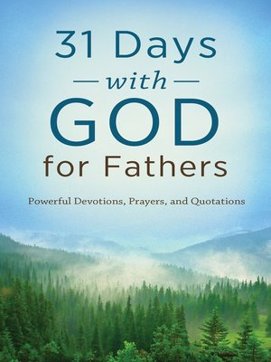 cover image of 31 Days with God for Fathers