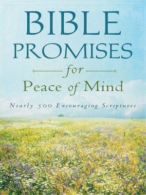 cover image of Bible Promises for Peace of Mind