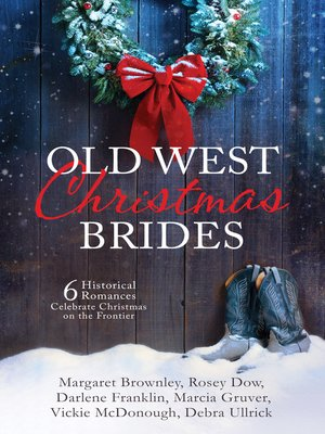 cover image of Old West Christmas Brides