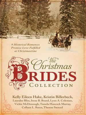 cover image of The Christmas Brides Collection