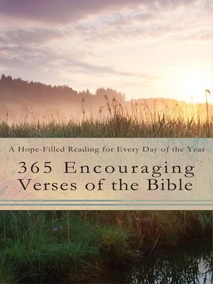 cover image of 365 Encouraging Verses of the Bible