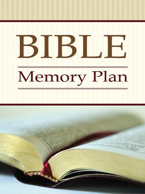 cover image of Bible Memory Plan