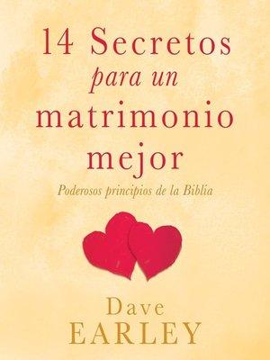 cover image of 14 Secretos para un matrimonio mejor