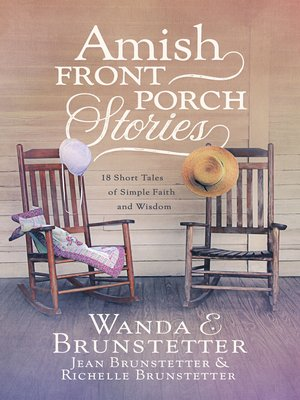 cover image of Amish Front Porch Stories