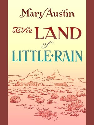 cover image of The Land of Little Rain