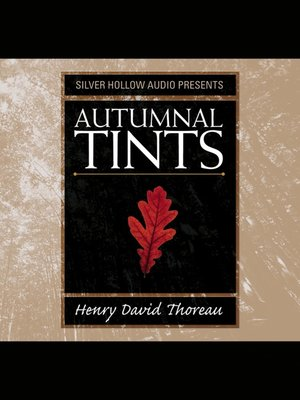 cover image of Autumnal Tints