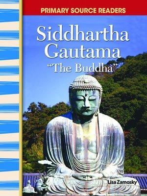 cover image of Siddhartha Gautama