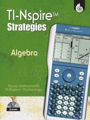 cover image of TI-Nspire Strategies: Algebra