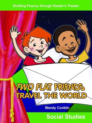 cover image of Two Flat Friends Travel the World