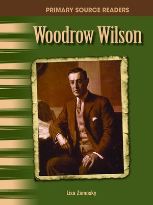 cover image of Woodrow Wilson