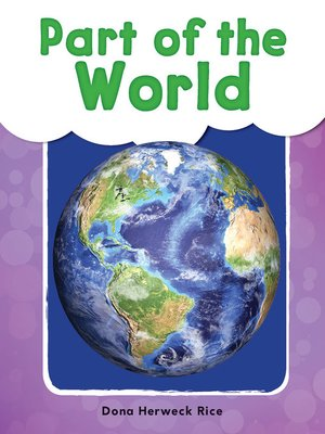 cover image of Part of the World