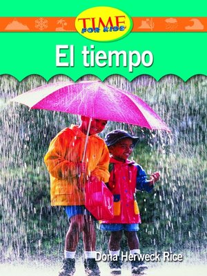 cover image of El tiempo (Weather)