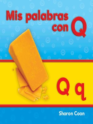 cover image of Mis palabras con Q