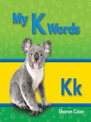 cover image of My K Words