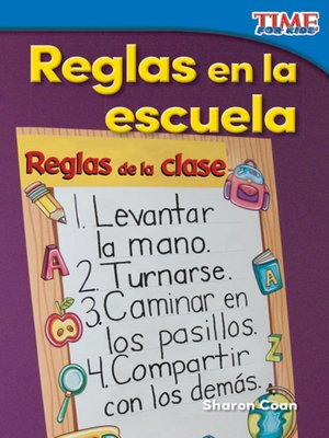 cover image of Reglas en la escuela (Rules at School)