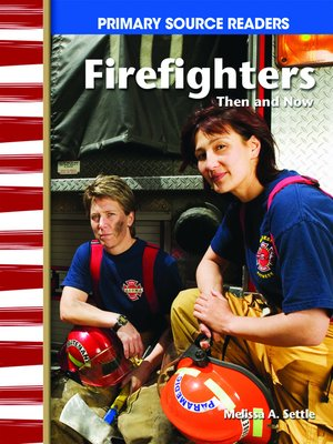 cover image of Firefighters Then and Now