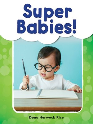 cover image of Super Babies! Read-Along eBook