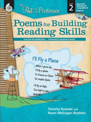 cover image of The Poet and the Professor: Poems for Building Reading Skills: Level 2