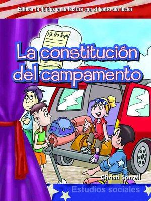 cover image of La constitución del campamento (Camping Constitution )