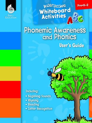 cover image of Interactive Whiteboard Activities: Phonemic Awareness and Phonics