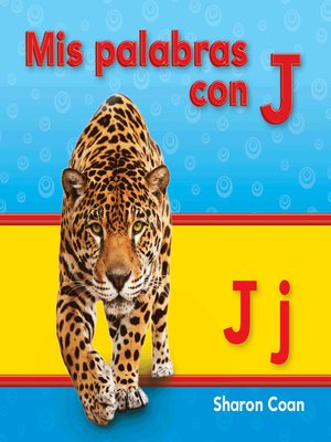 cover image of Mis palabras con J
