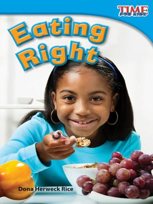 cover image of Eating Right