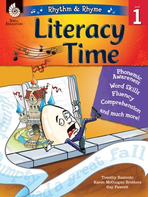 cover image of Rhythm & Rhyme Literacy Time Level 1