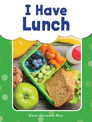 cover image of I Have Lunch